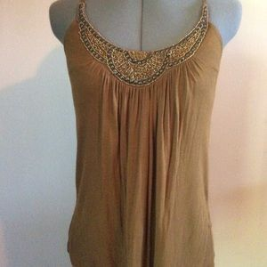 Forever 21 | Beaded Collar Cami-Tank